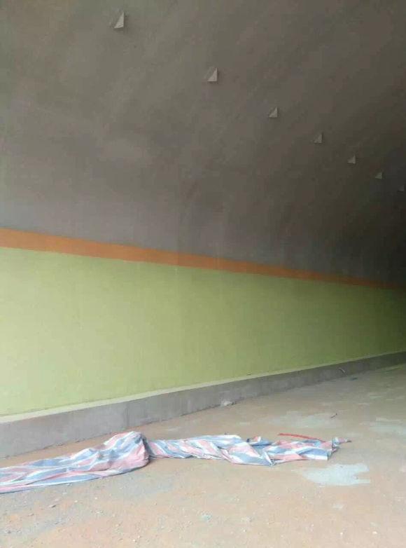 隧道防火涂料喷涂困难